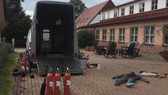 brandutbildning med Cupola Fire